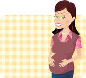 Pregnant woman Stock Photos