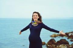 Pregnant woman Stock Image