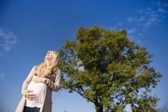 Pregnant woman Royalty Free Stock Photo