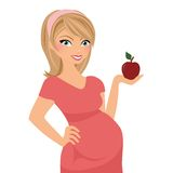 Pregnant woman portrait Royalty Free Stock Photography
