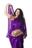 Pregnant  woman portrait Royalty Free Stock Image