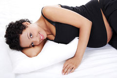 Pregnant woman resting. Stock Photography