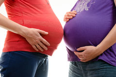 Pregnant womans Royalty Free Stock Photos
