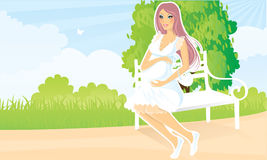 Pregnant women Royalty Free Stock Photography