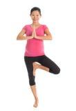 Pregnant yoga Stock Photo