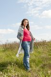 Pregnant young woman Royalty Free Stock Photos
