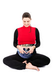 Earth pregnant women Stock Photography