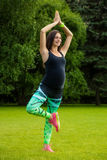 The pregnant young woman Royalty Free Stock Photography