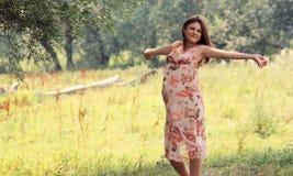 pregnaut kobieta Zdjęcie Royalty Free