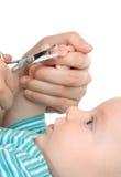 Pregos do `S do bebê da estaca Fotografia de Stock Royalty Free