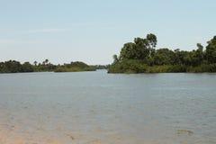 Preguiça River, Barreirinhas, MA, Brazil Stock Photography