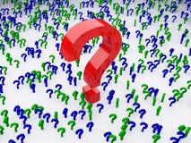 Pregunta Fotografía de archivo libre de regalías