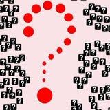 Pregunta Foto de archivo libre de regalías