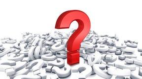 Pregunta Imágenes de archivo libres de regalías