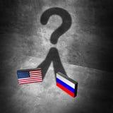 Pregunta americana de las noticias de Rusia libre illustration