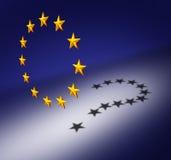 Pregunta de Europa Imagen de archivo libre de regalías
