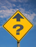 Pregunta de la dirección Fotografía de archivo libre de regalías