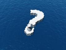 Pregunta del oso polar Fotos de archivo libres de regalías