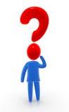 Pregunta grande stock de ilustración