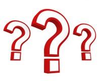 Pregunta importante Imagen de archivo libre de regalías