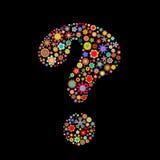 Pregunta-marca Fotografía de archivo libre de regalías