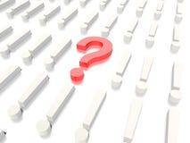 Pregunta Mark Concept Graphic Fotos de archivo