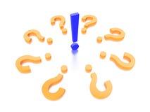 Pregunta Mark Concept Graphic Foto de archivo