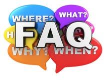 Pregunta y FAQ libre illustration