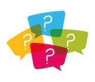 Pregunta y soluciones Fotografía de archivo libre de regalías