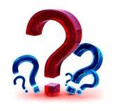Preguntas Imágenes de archivo libres de regalías
