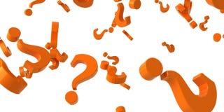 Preguntas, preguntas Imágenes de archivo libres de regalías