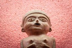 Prehispanic art at Rufino Tamayo Museum in Oaxaca Mexico. Oaxaca, Oaxaca / Mexico - 21/7/2018: Prehispanic art at Rufino Tamayo Museum in Oaxaca Mexico stock image
