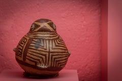 Prehispanic art at Rufino Tamayo Museum in Oaxaca Mexico. Oaxaca, Oaxaca / Mexico - 21/7/2018: Prehispanic art at Rufino Tamayo Museum in Oaxaca Mexico stock images