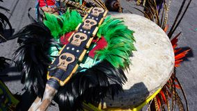Prehispanic ornaments Stock Images