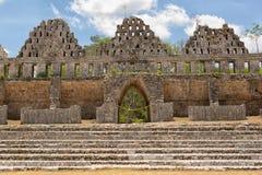 Prehispanic town of Uxmal Royalty Free Stock Photos