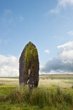 Prehistoric anicent stone in landscape Stock Photography