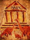 Prehistoric bank Stock Photo