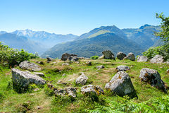 Prehistoric Cromlech in France Royalty Free Stock Image