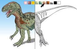 Prehistoric dinosaur Stock Photo