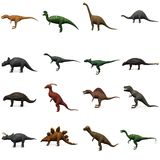 Prehistoric dinosaurs Royalty Free Stock Photos