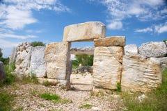 Prehistoric entrance Stock Photos