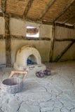 Prehistoric interior Stock Image