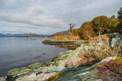 Prehistoric landscape in Patagonia, South America Stock Photography