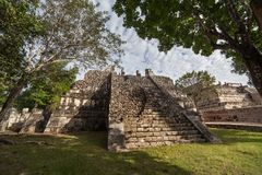 Prehistoric Mayan ruin at Chichen Itza, Yucatan, Mexico. royalty free stock image