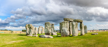 The prehistoric monument of Stonehenge Stock Photography