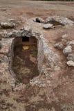 Prehistoric necropolis Stock Image
