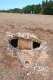Prehistoric necropolis Stock Images