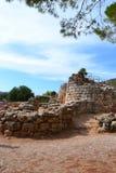 Prehistoric nuraghe village Palmavera, Sardinia Stock Photography