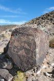 Prehistoric petroglyphs Stock Images