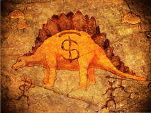 Prehistoric piggy bank Royalty Free Stock Photography